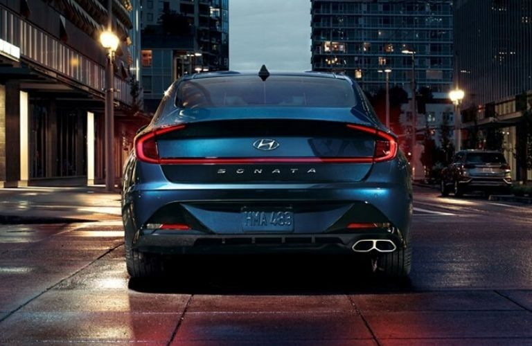 2020 Hyundai Sonata exterior rear fascia in city_o