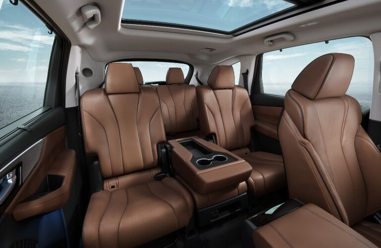 A photo of the seating options in the 2022 Acura MDX.