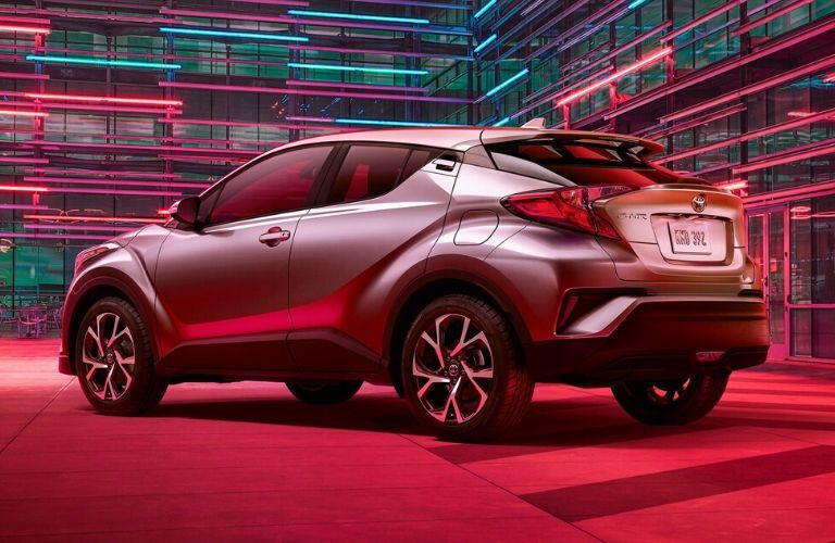 2020 Toyota C-HR in red lights