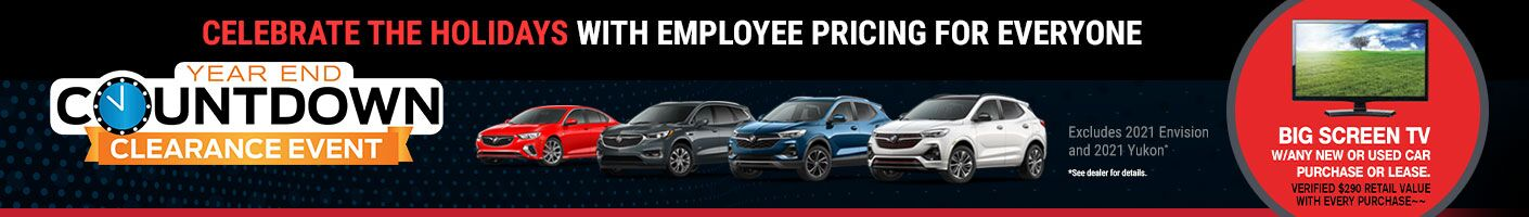 Holiday Employee Pricing for Everyone