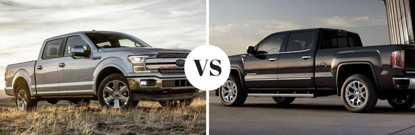 2018 Ford F-150 vs 2018 GMC Sierra
