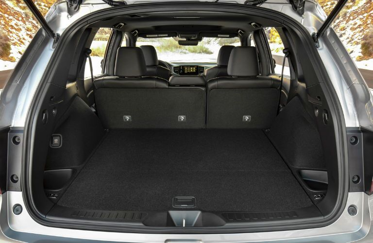 2021 Honda Passport cargo space
