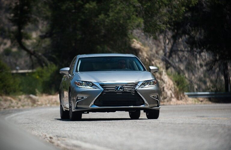 2018 Lexus ES driving on road