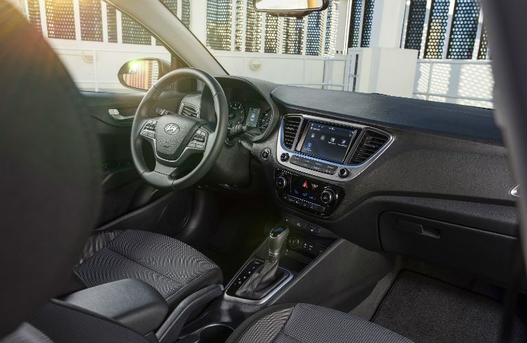 2020 Hyundai Accent Dashboard