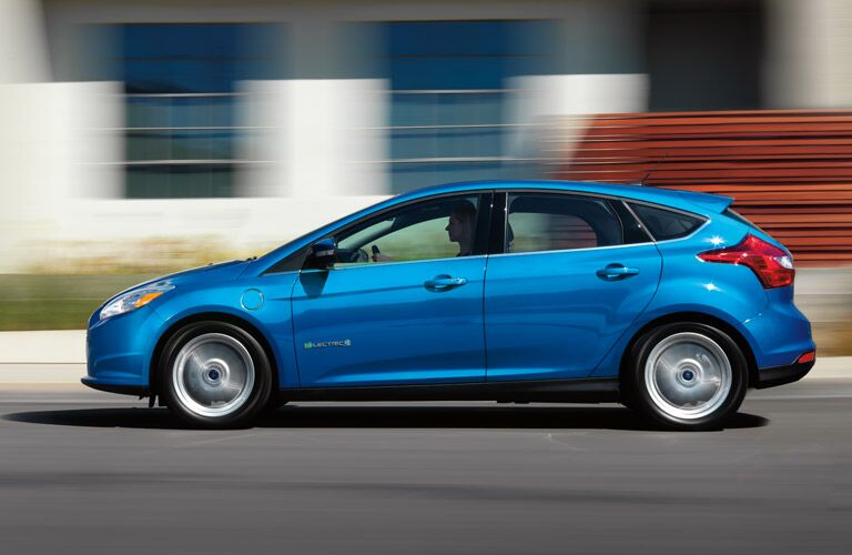 2013 Ford Focus Exterior Driver Side Profile