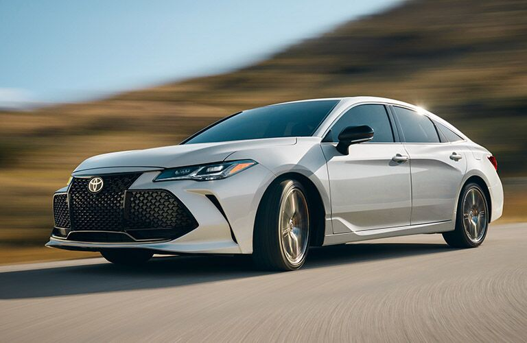 2019 Toyota Avalon on the road