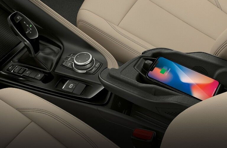 2020 BMW X1 wireless charging