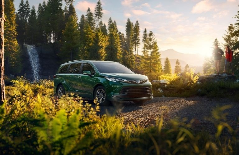 2021 Toyota Sienna in forest