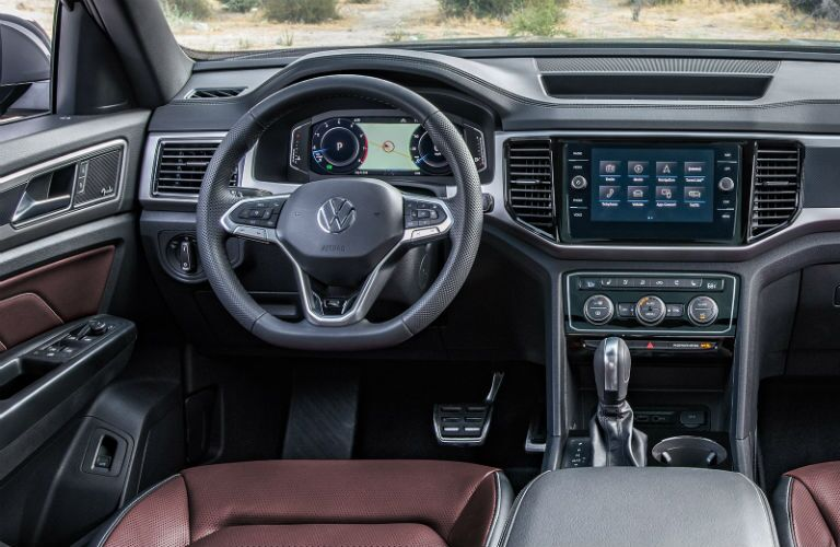 2020 VW Atlas Cross Sport front interior