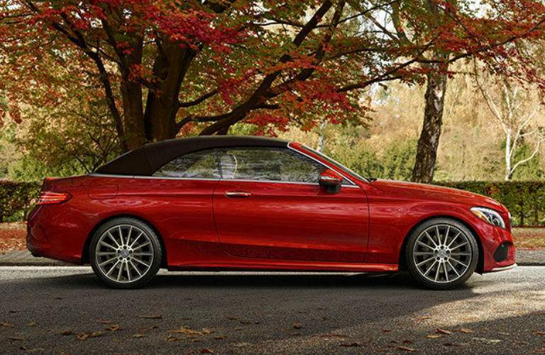 2017 Mercedes-Benz C-Class Cabriolet in fall