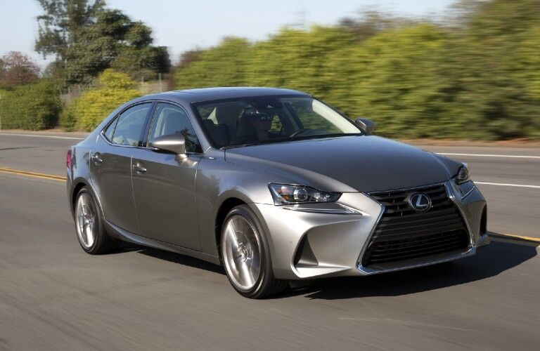 2017 Lexus IS on highway