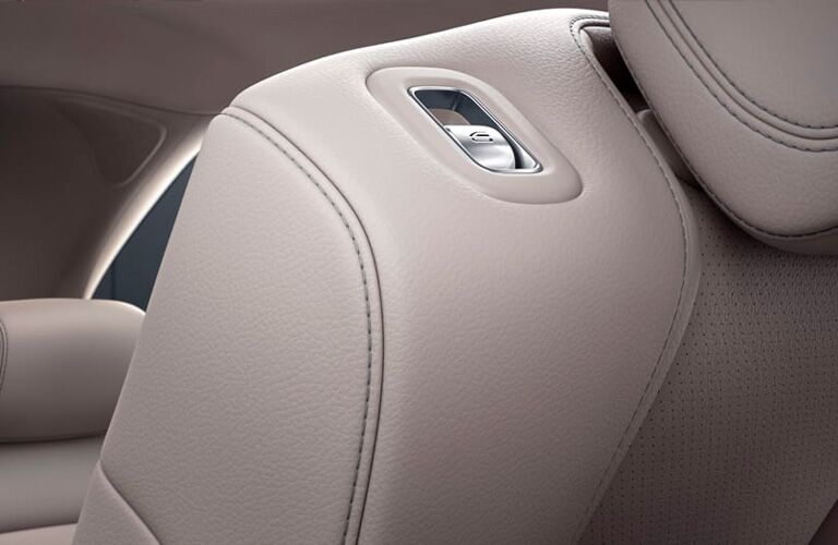 2021 MB AMG GLE 63 interior close up of seat shoulder