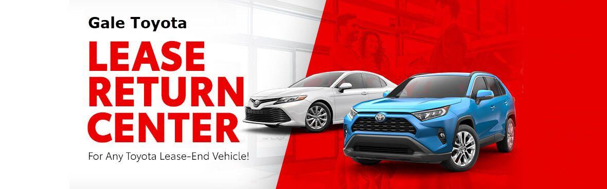 Toyota Lease Return Header