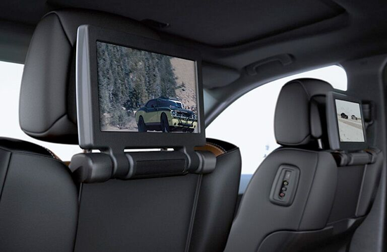 2019 Dodge Durango rear entertainment screens