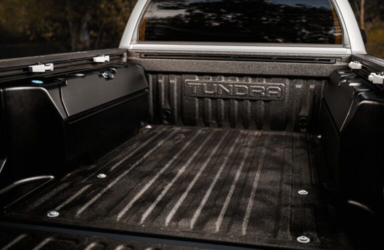 bed of 2021 Toyota Tundra Trail Special Edition