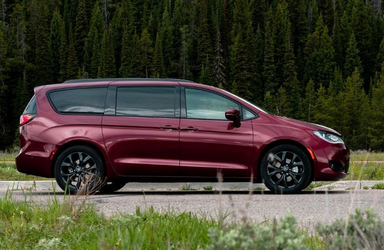 Maroon 2020 Chrysler Pacifica