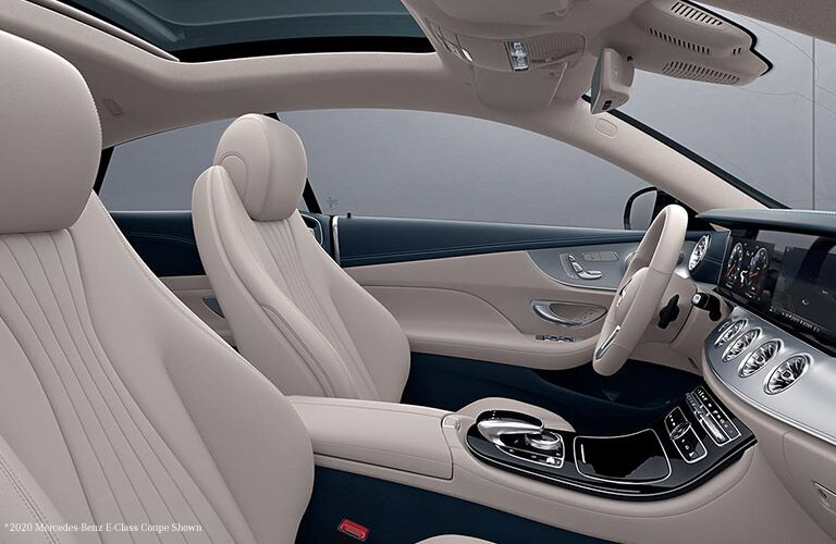 2021 MB E-Class interior side view seats steering wheel