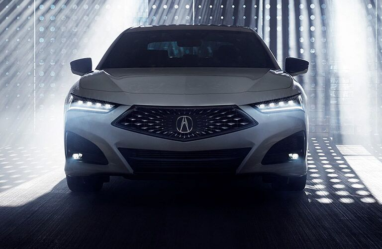 2021 Acura TLX in white