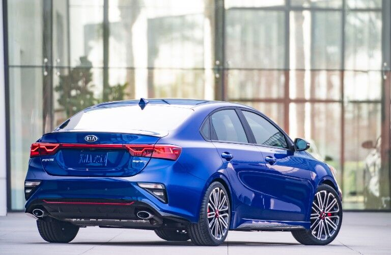 2021 Kia Forte from exterior rear