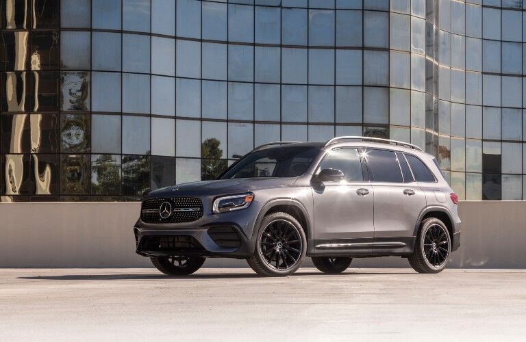 2021 Mercedes-Benz GLB from exterior front