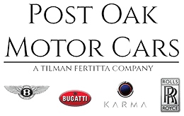 Post Oak Motor Cars logo
