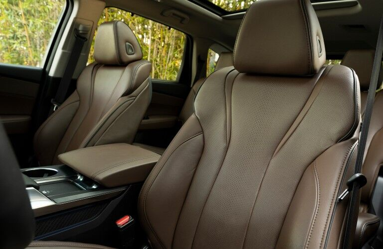 The front seats of the 2022 Acura MDX will offer plenty of passenger comfort.