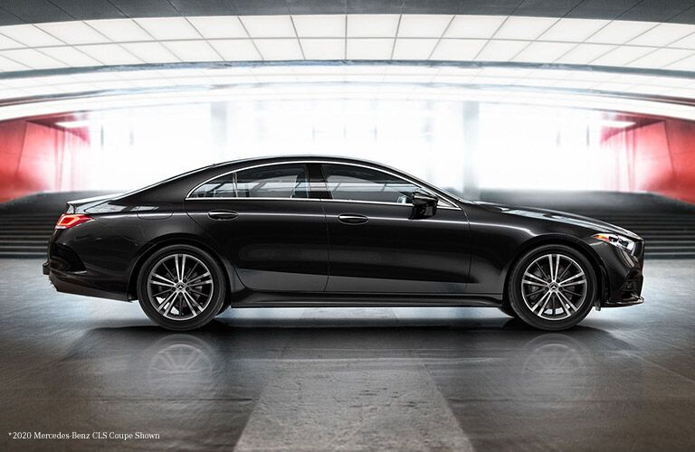 2021 Mercedes-Benz CLS from passenger side