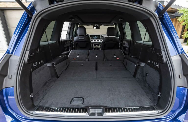 open rear hatch in 2020 mb gls