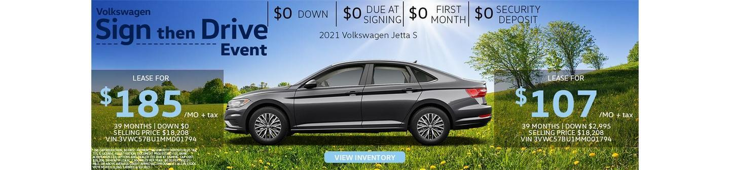 VW Van Nuys Jetta deals