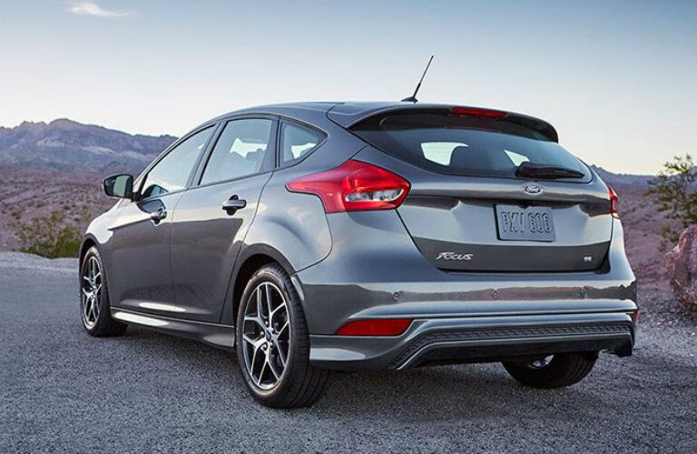 2016 Ford Focus Back End