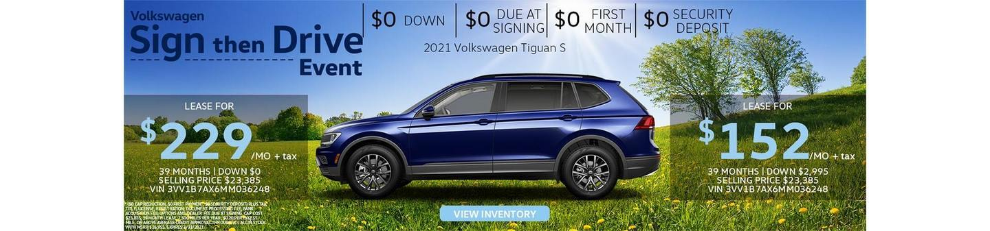 VW Van Nuys Tiguan deals