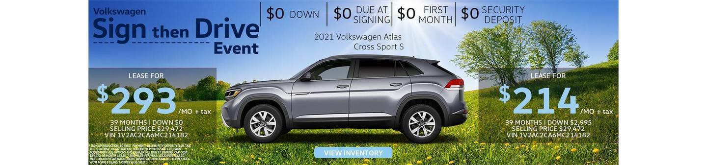 Atlas Cross Sport deals Los Angeles