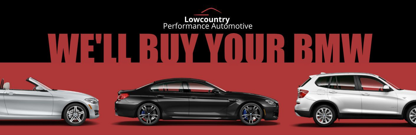 2016 BMW 230i Convertible M6 Gran Coupe X3 sDrive28i Exterior Passenger Side Profiles with Lowcountry Logo