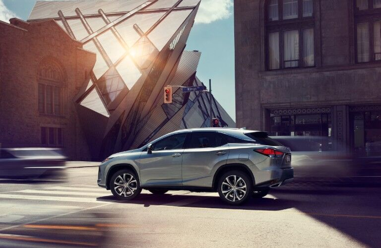 2020 Lexus RX from exterior driver's side