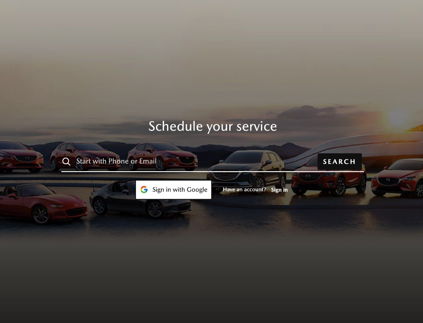 Schedule Service Tool
