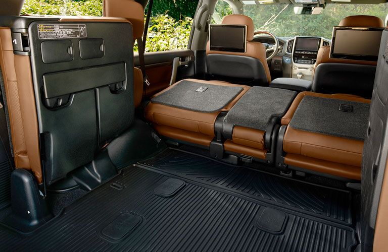 2020 Toyota Land Cruiser rear cargo area