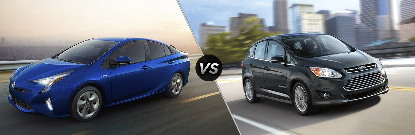 2017 Toyota Prius vs 2017 Ford C-Max at Heritage Toyota