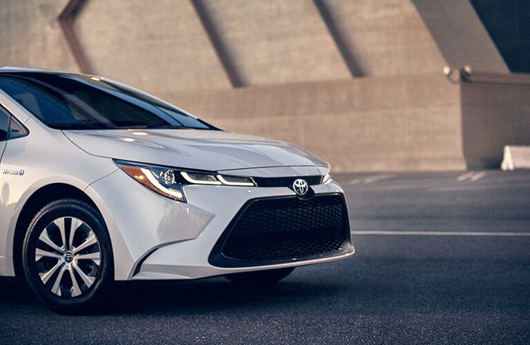 2021 Toyota Corolla Hybrid front end