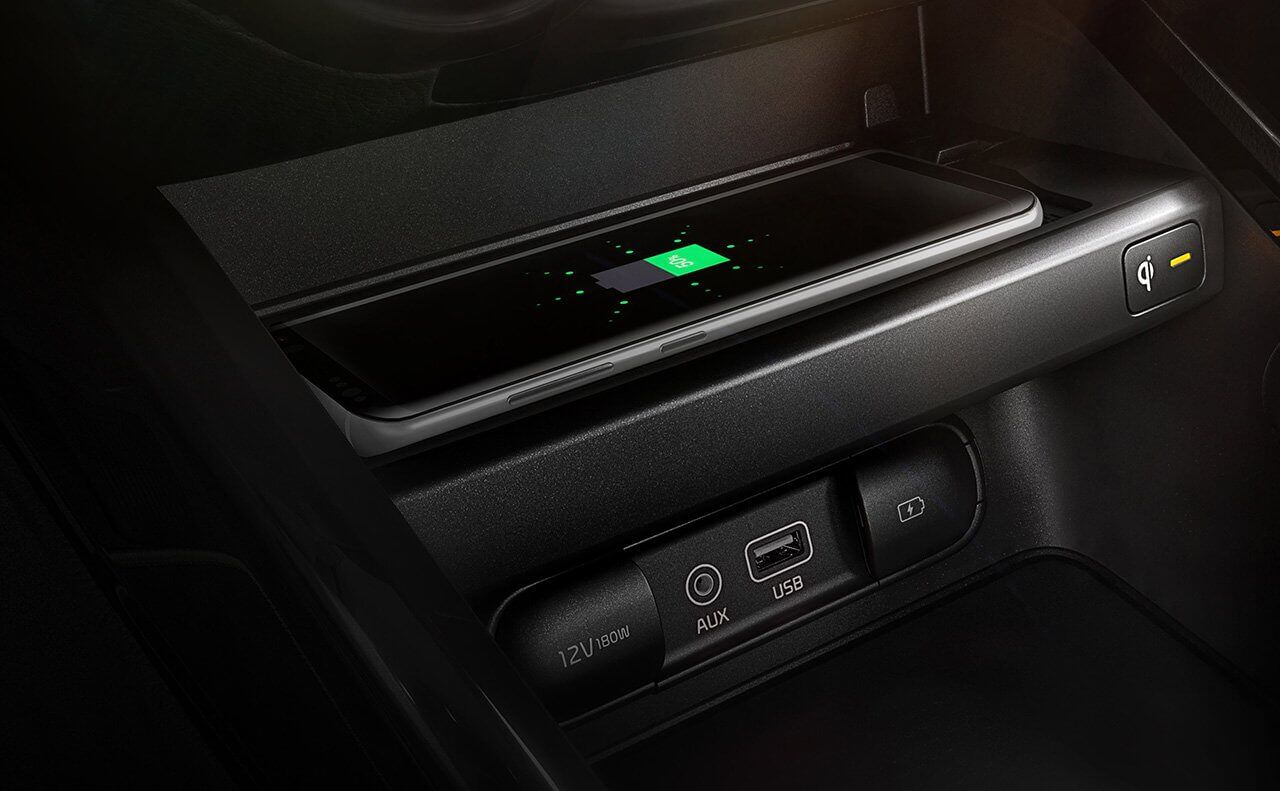 2019 Kia Forte Wireless Device Charging