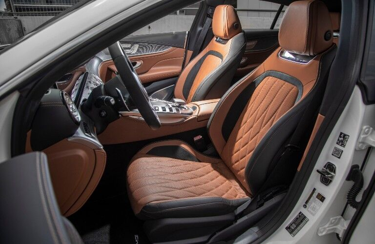 Front seats in 2021 Mercedes-AMG GT-Class