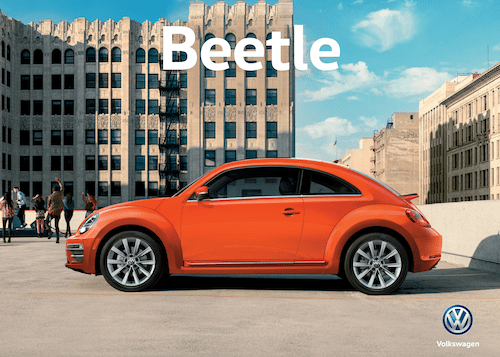 2019 Beetle Convertible brochure