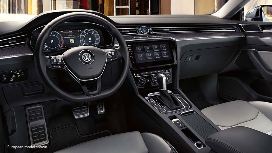 Volkswagen Arteon's interior amenities