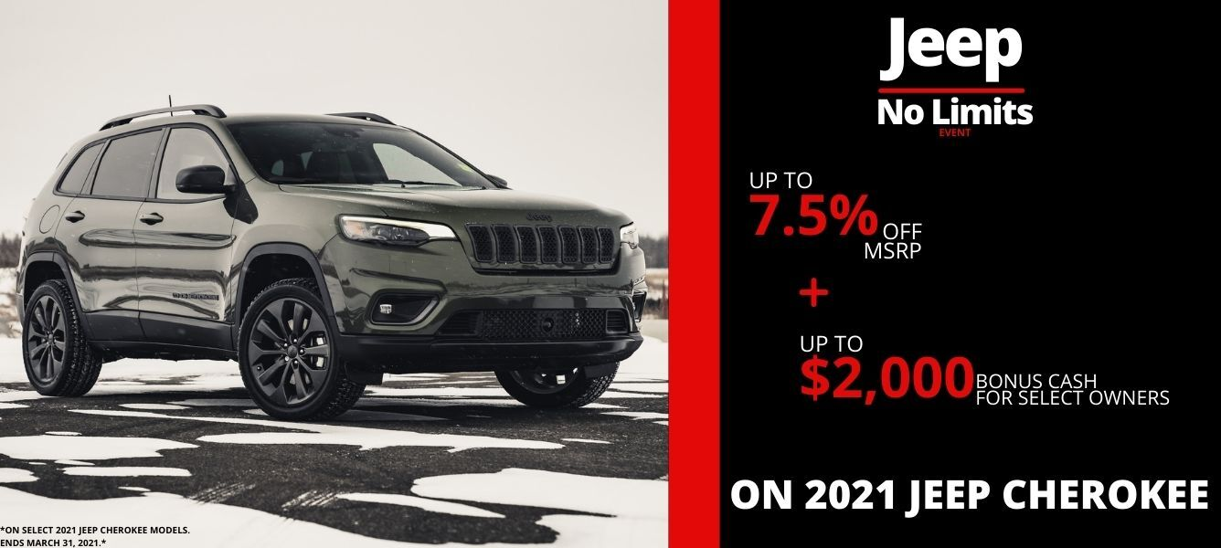 Shop New Jeep Cherokee Models