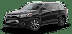 New Toyota Highlander Hybrid at Mesa