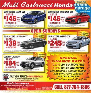 March Honda Deals