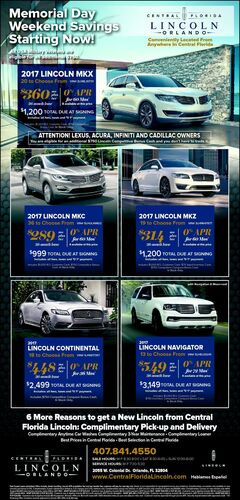 Let's put a New Lincoln in Your Driveway!