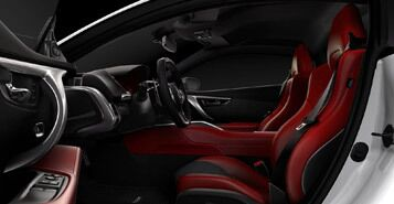 Leather-Wrapped Interior