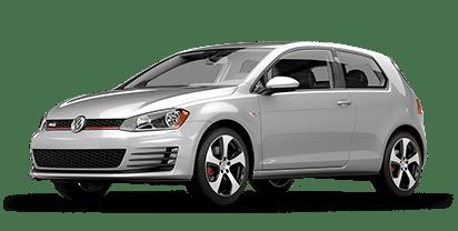 New Volkswagen Golf GTI in
