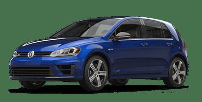 New Volkswagen Golf R in