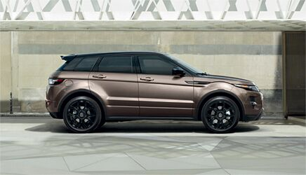 New Land Rover Range Rover Evoque near San Francisco